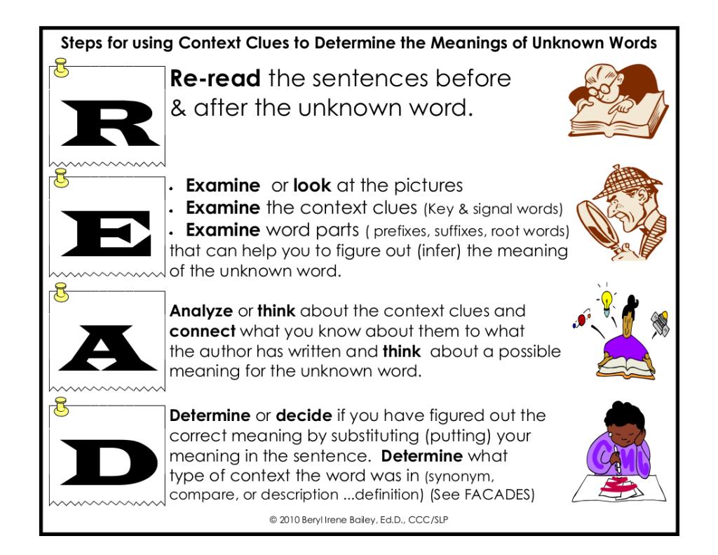 READ-context clues